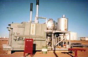 Packaged steam boiler
