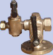 Bronze Gauges Glass Valves